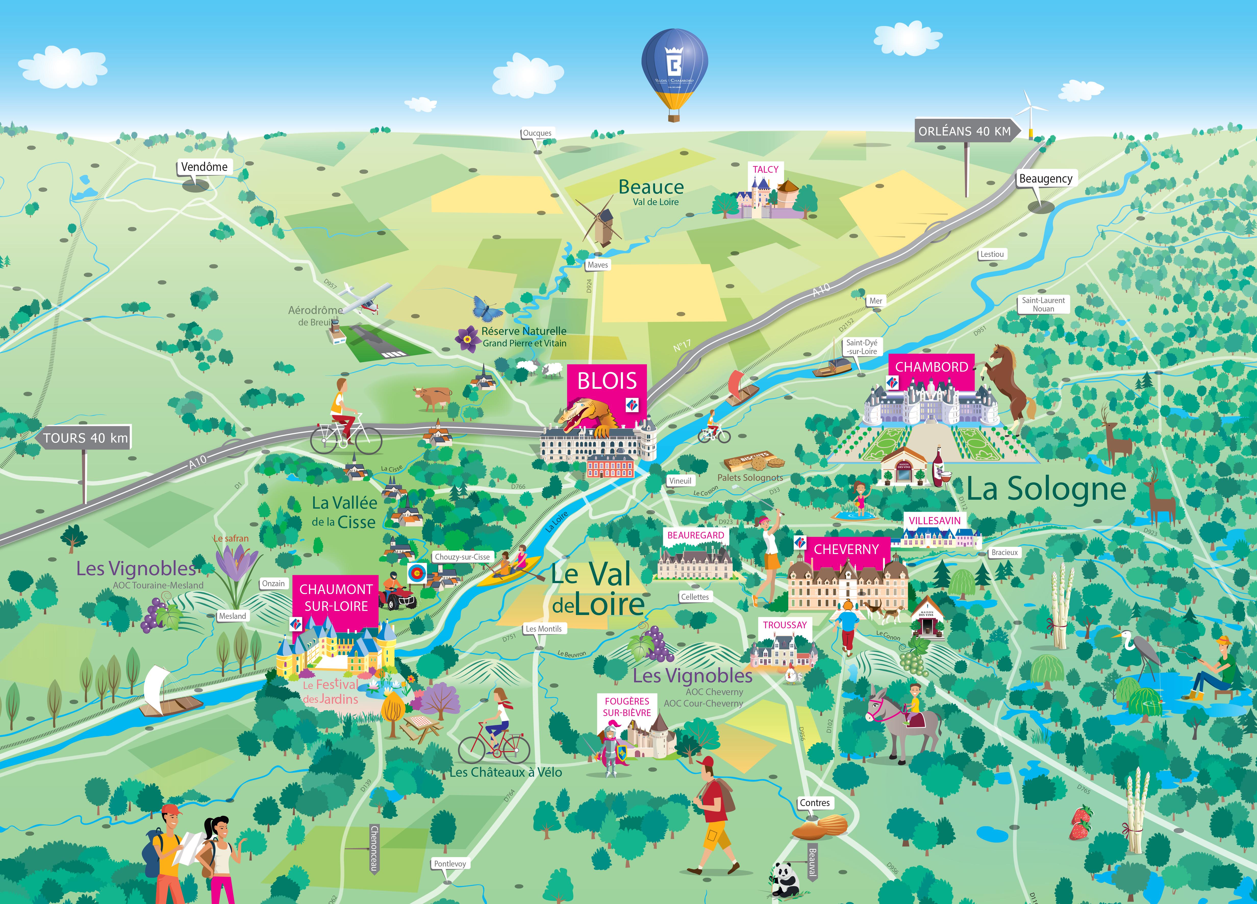 Our Land Blois Chambord Tourism