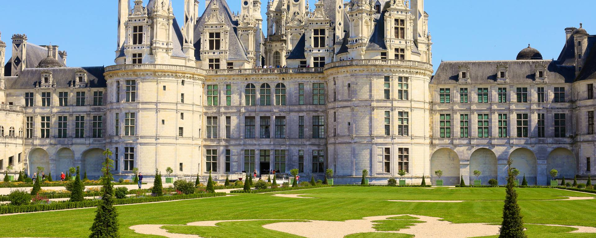 The château and gardens of Chambord. © Ludovic Letot