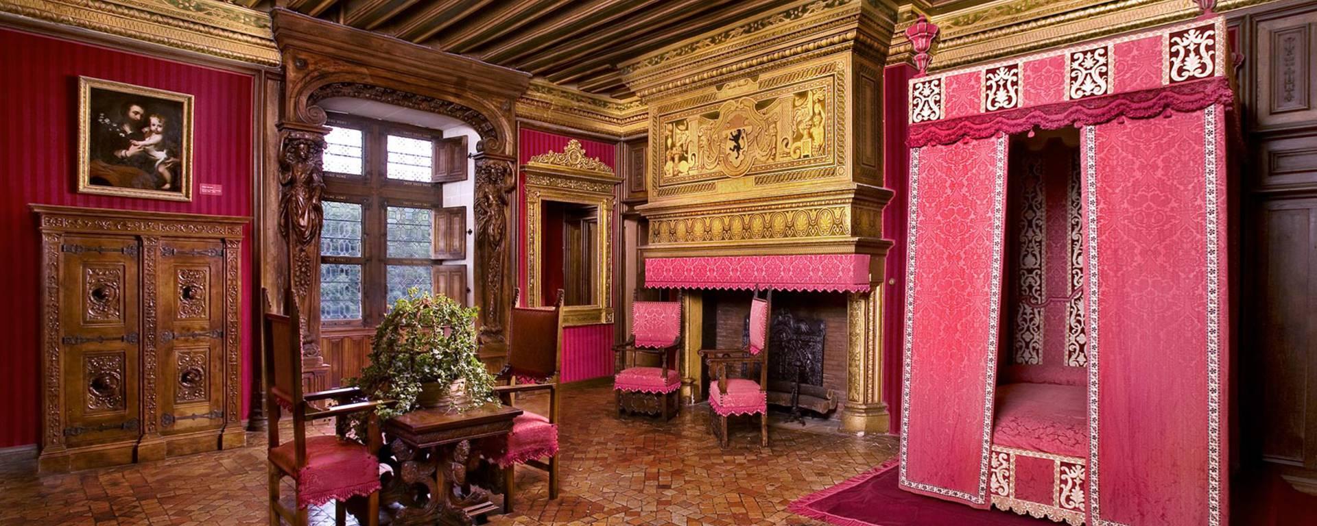 Interior of the Château de Chenonceau