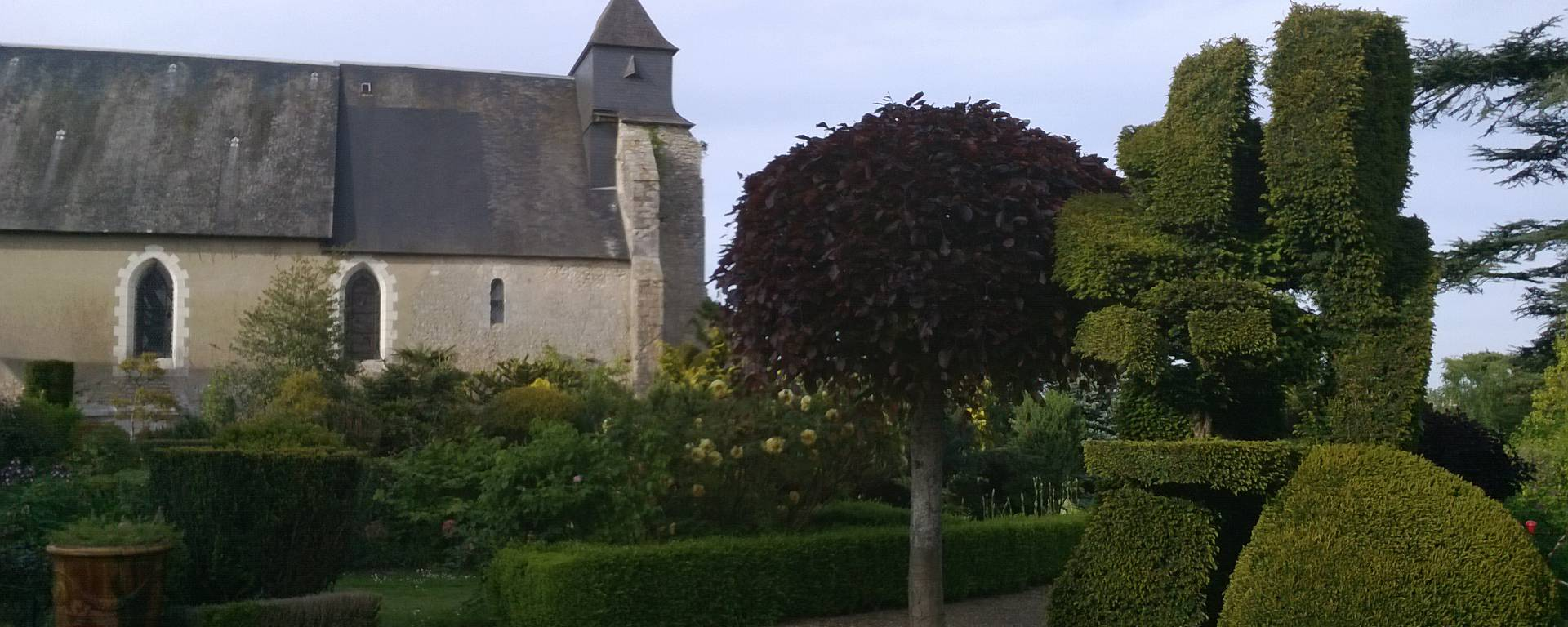 The Orchaise priory.