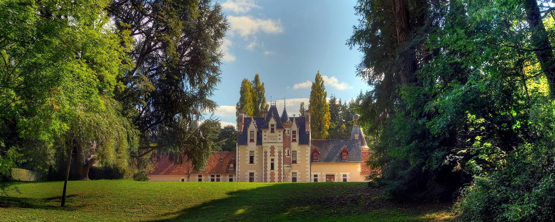 The grounds of the Château de Troussay