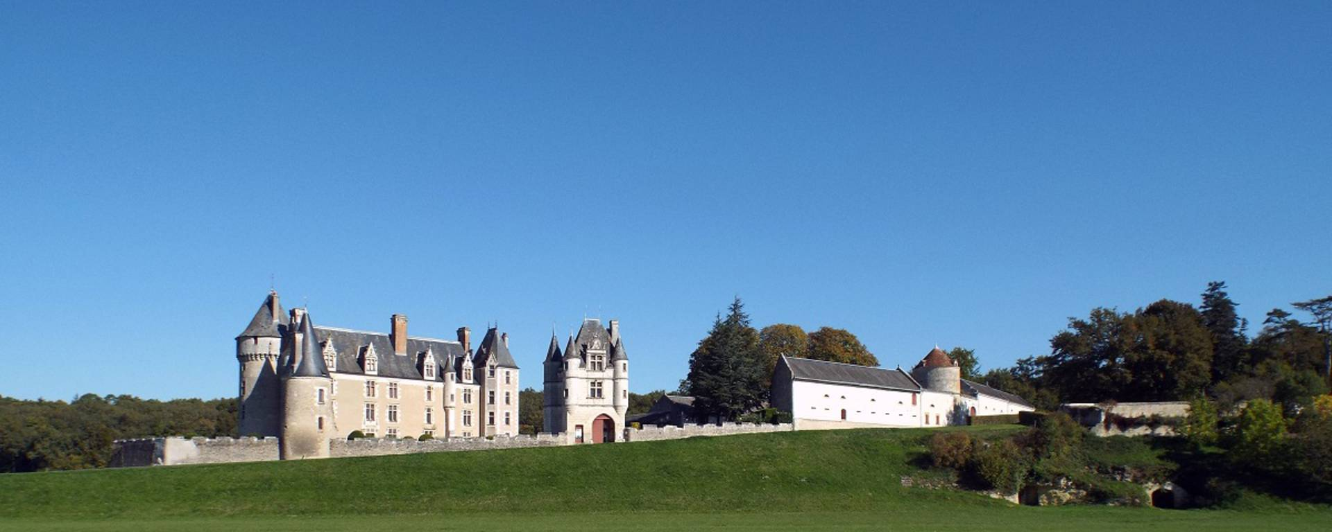 Exterior view of the Château de Montpoupon. © Blois-Chambord Tourist Office