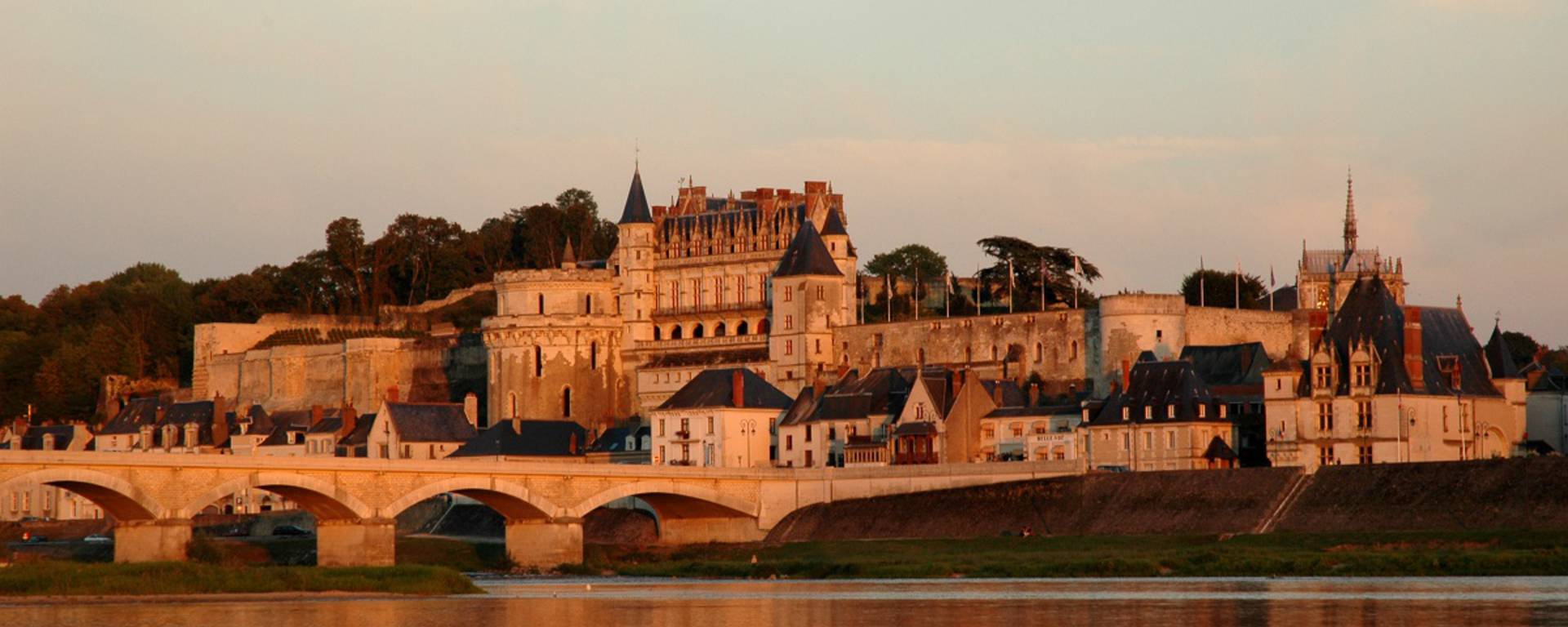 General view of the Château d'Amboise. © JF Le Scour