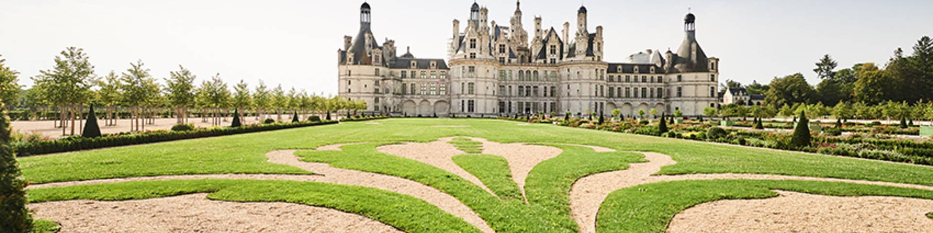 Chambord and its gardens © Benjamin Brolet