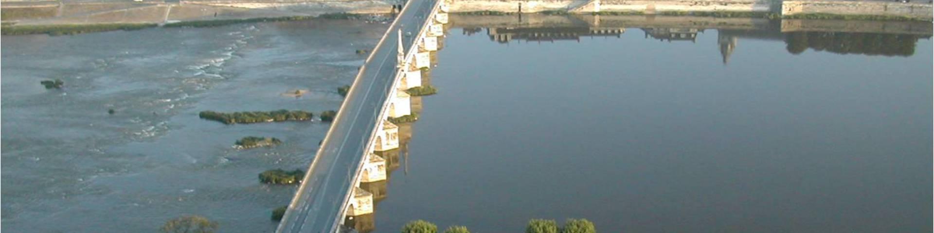 The Jacques Gabriel Bridge in the city of Blois