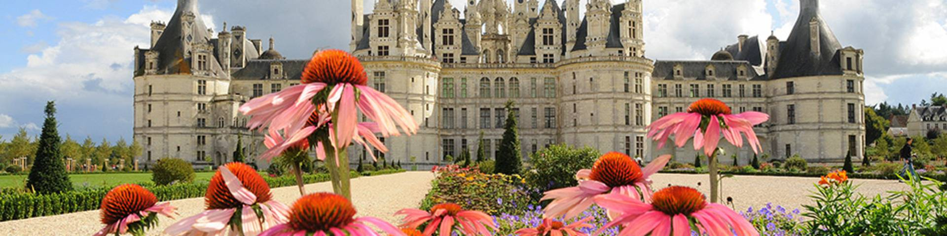 Chambord and its gardens