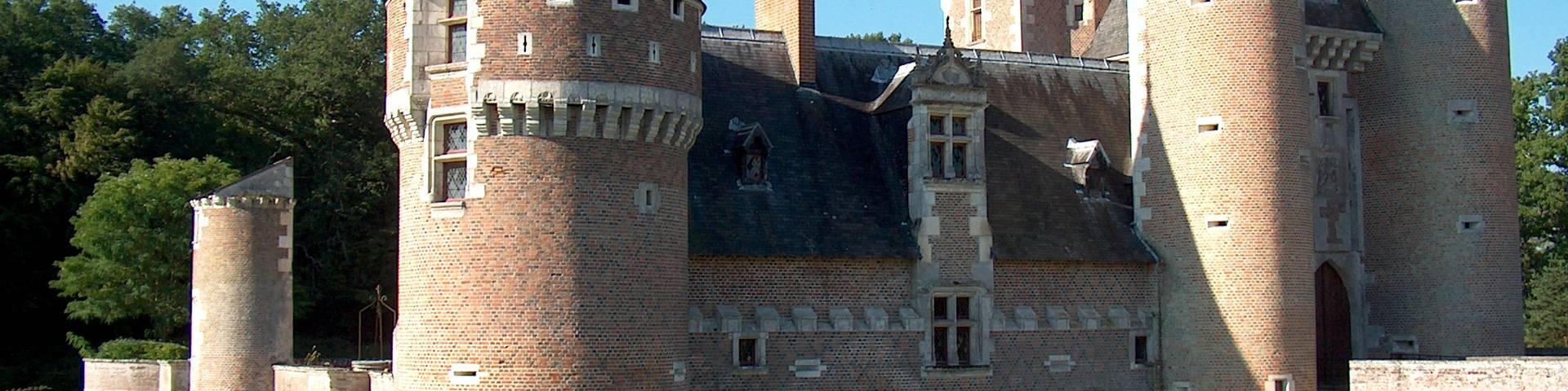 The château du Moulin. © OTBC