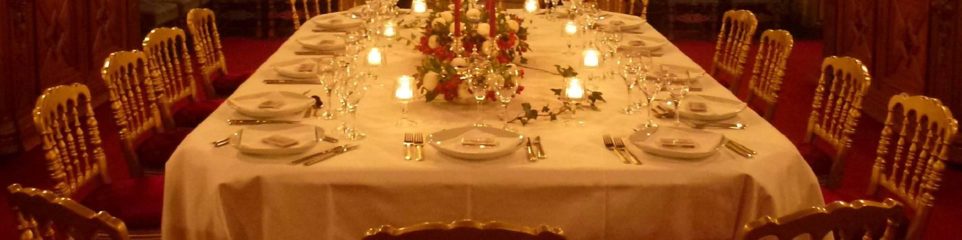 Prestigious dinner at the Château de Cheverny. © OTBC