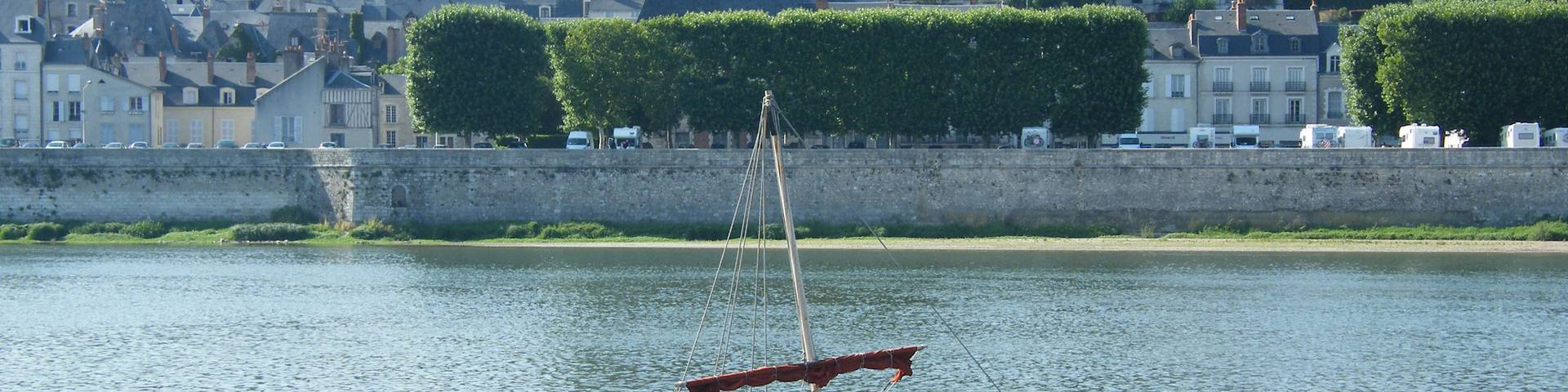 Futreau on the Loire at Blois. © OTBC