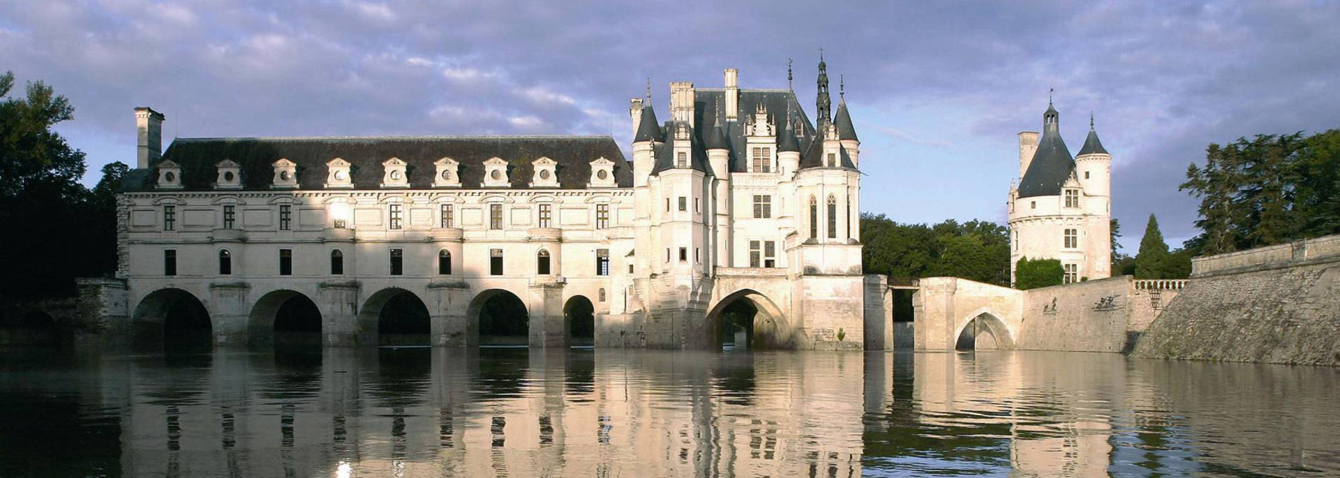 The Château de Chenonceau on the river Cher