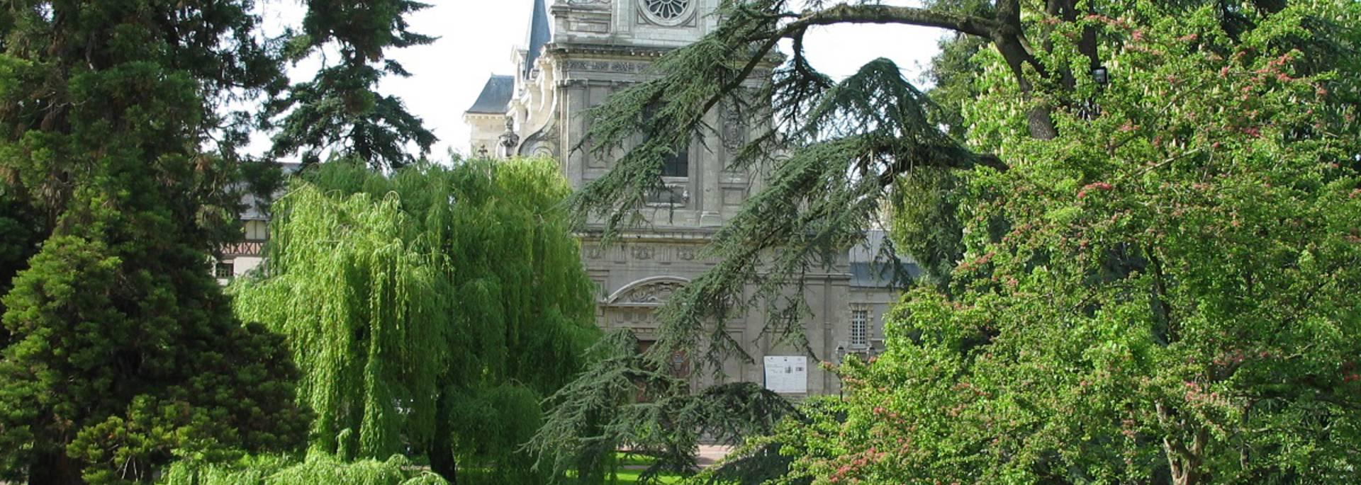 The Augustin Thierry garden in Blois