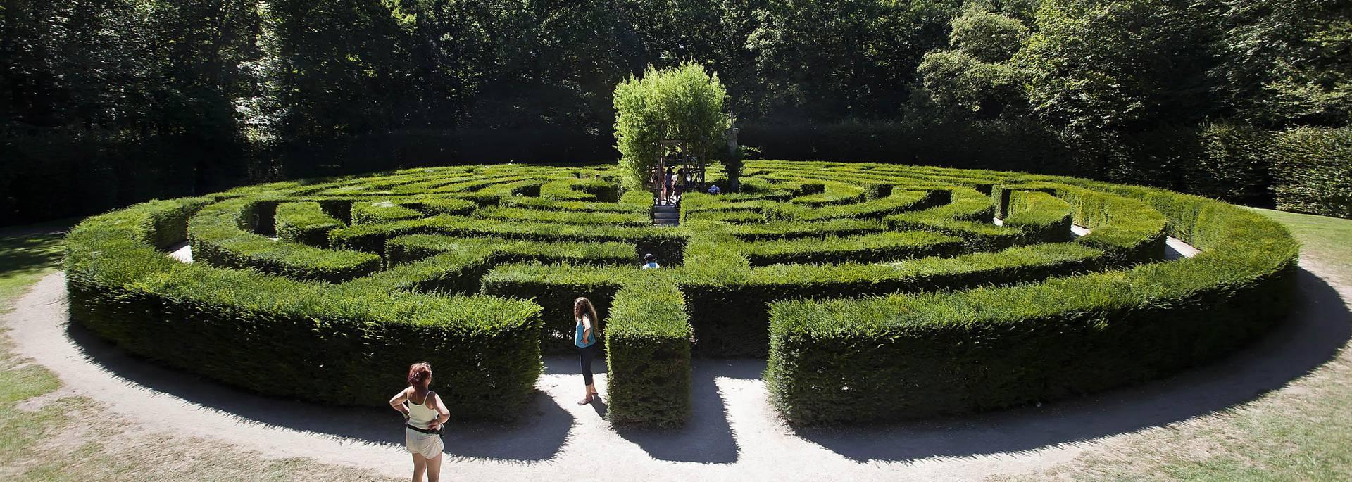 The gardens of the Château de Chenonceau © Images de Marc