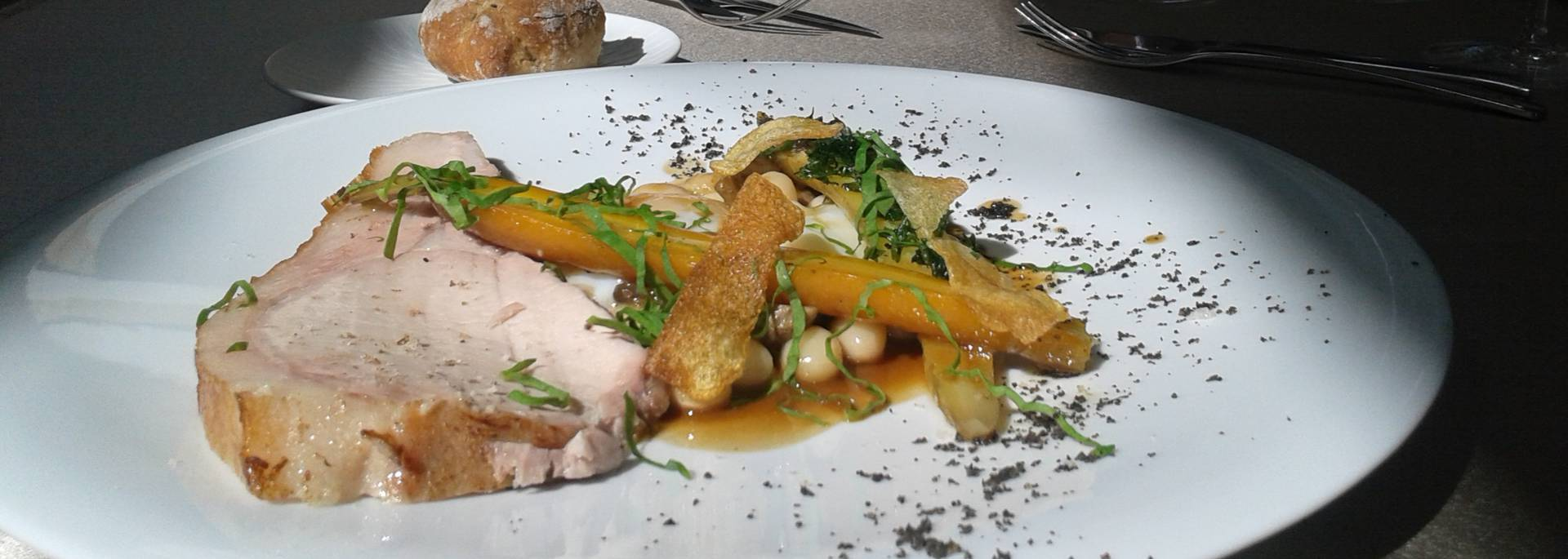 Dish at the ASSA in Blois