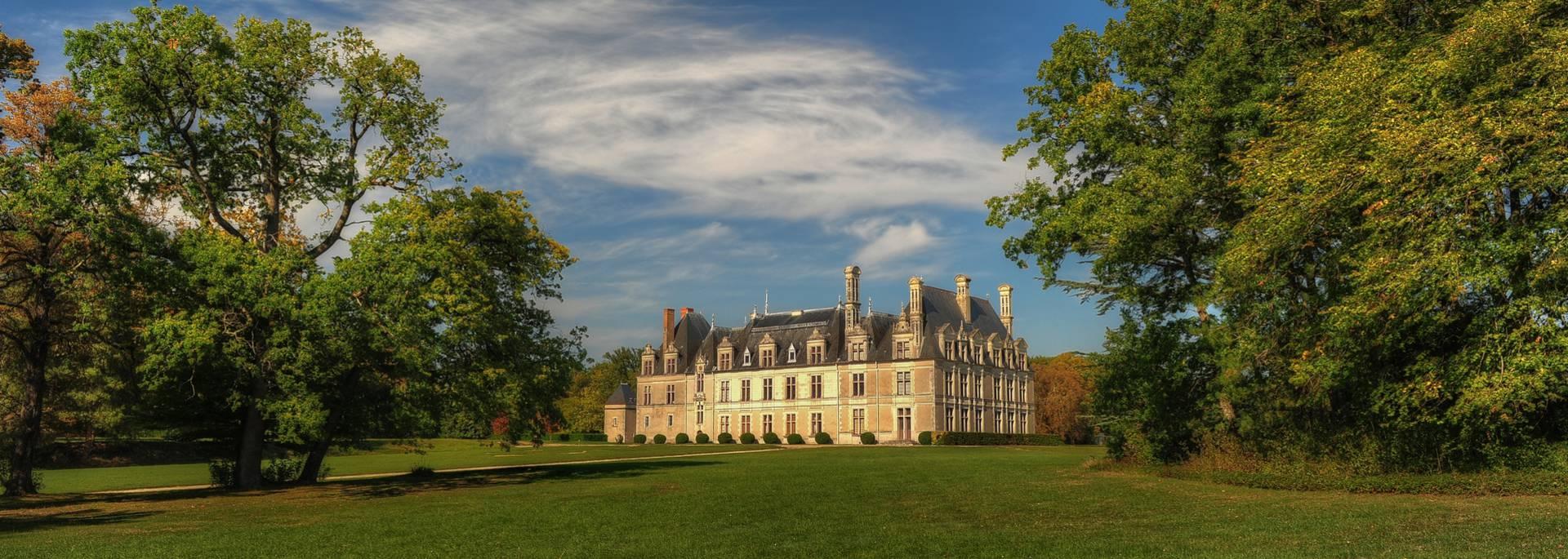 The grounds of the Château de Beauregard