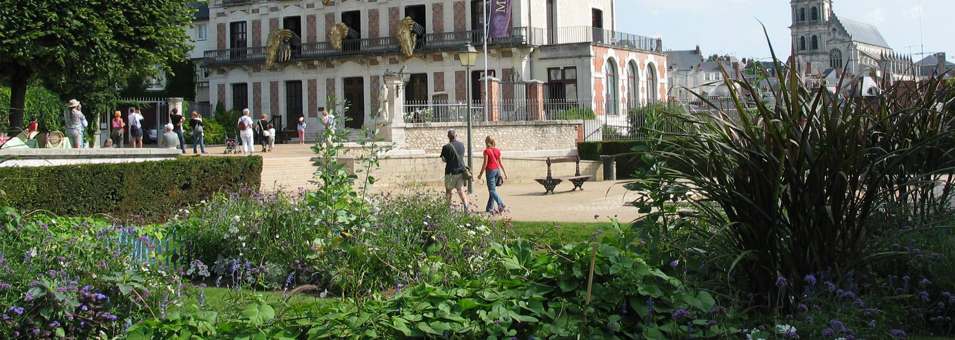 Gardens of Saint Sauveur and the Maison de la Magie