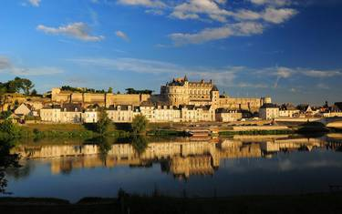 The royal Château d'Amboise. © L. de Serres