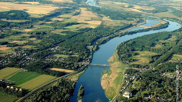 View from the top at Chaumont-sur-Loire © Loisirs Loire Valley