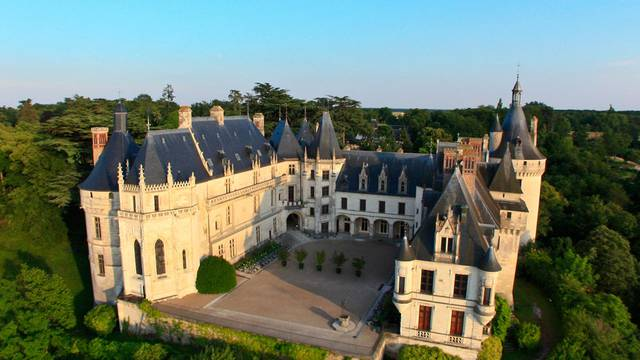 The Chaumont-sur-Loire regional estate © DR