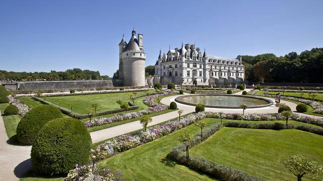 The chateau of Chenonceau © Images de Marc