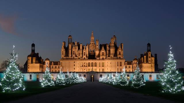 Chambord at Christmas time © L. de Serres