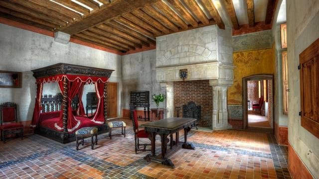 Leonardo da Vinci's room. © L. De Serres