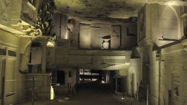 Cave des Roches at Bourré. © DR