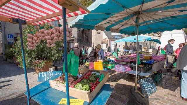 Market in Blois