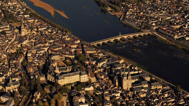 The city of Blois