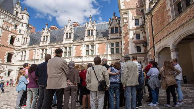Visit of the royal Castle of Blois
