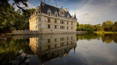 The castle of Azay le Rideau. © Léonard de Serres