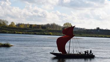 Boat on the Loire. © OTBC