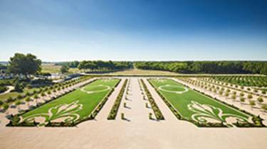 The gardens of Chambord_ Crédit Benjamin Brolet