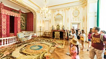 The king's bedroom of Chambord_Crédit Benjamin Brolet