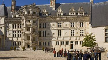 Royal castle of Blois. © Atout France Michel Angot