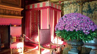 Chambre au château de Chenonceau