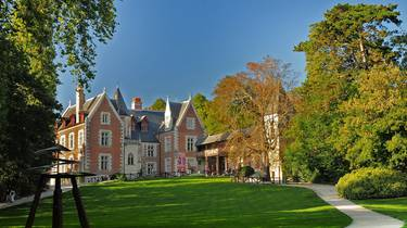 The castle of Clos Lucé. © Léonard de Serres