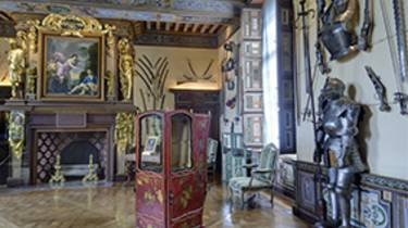 La salle d'armes à Cheverny © A.Chicurel