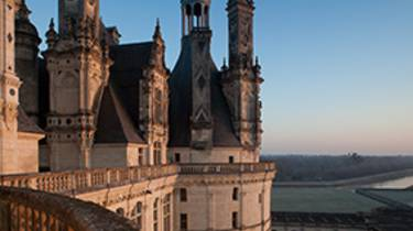 On the terraces of Chambord  © Perrin
