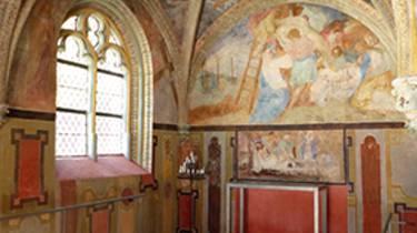 The chapel of the castle of Villesavin