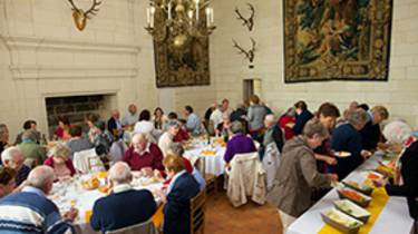 Lunch at the Domaine de Chambord © Ludovic Letot