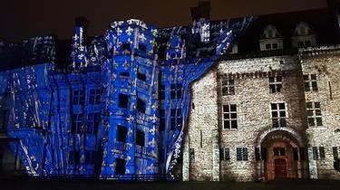 New Sound and Light at Blois Castle. © Leguere