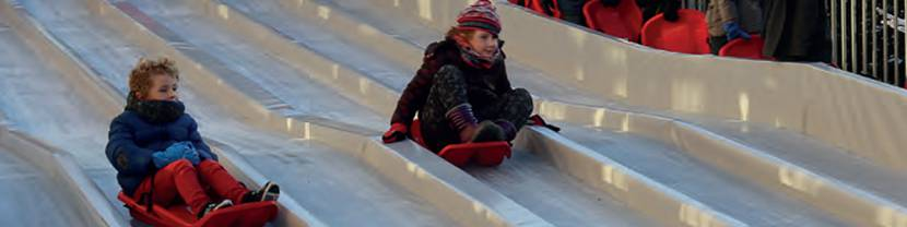 Sledding in Blois
