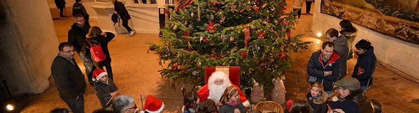 Santa Claus in Chambord