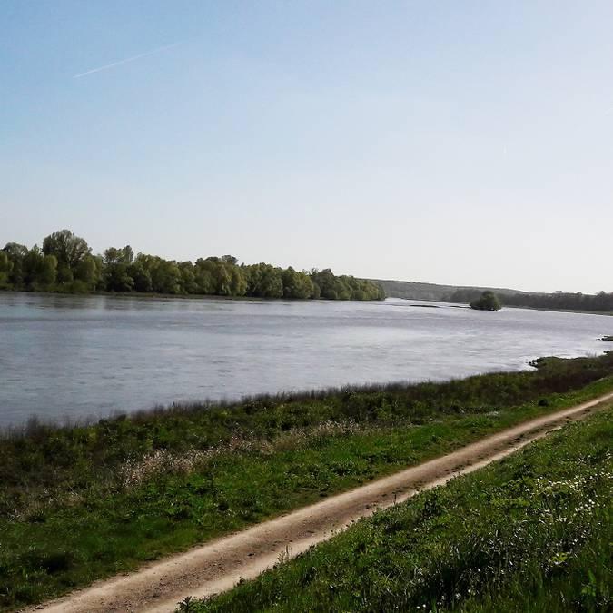 The banks of the Loire at Chouzy-sur-Cisse