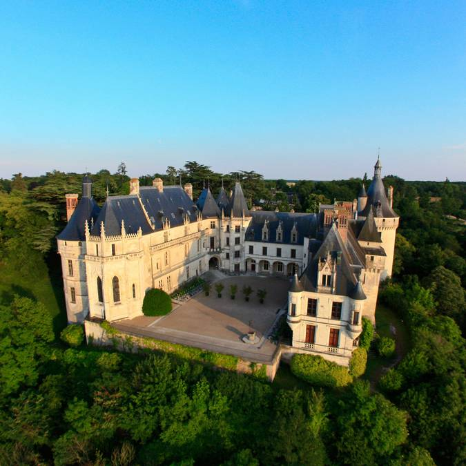 The north face of the Château de Chaumont-sur-Loire. © © Blois-Chambord Tourist Office