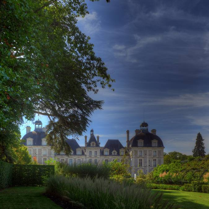 The grounds of the Château de Cheverny