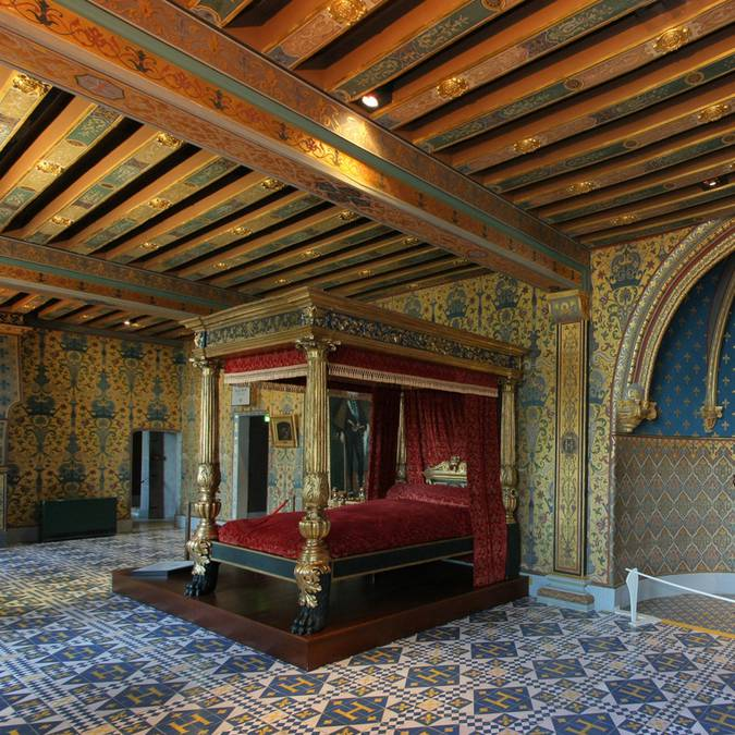 The king's room in the Château de Blois
