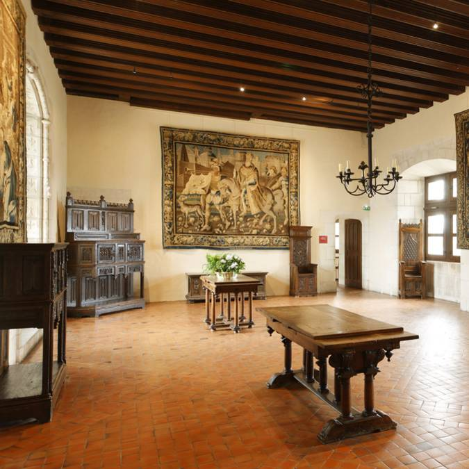 Château d'Amboise, interior