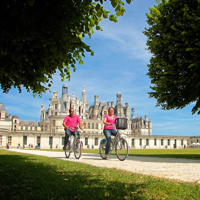 Chambord by bike © Ludovic Letot