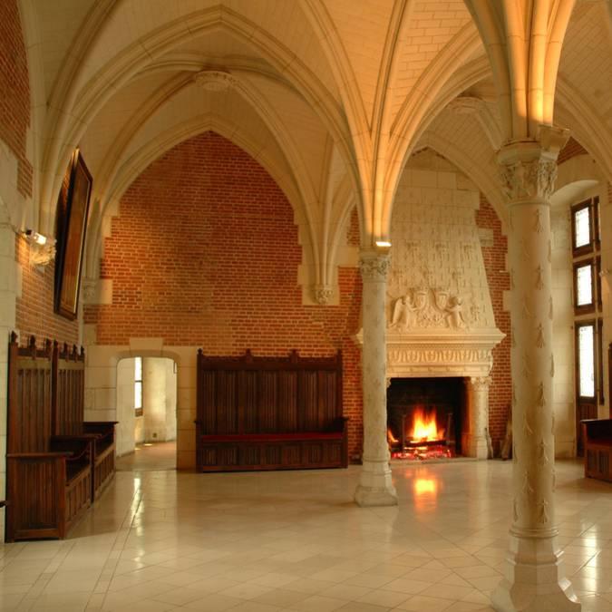 Château d'Amboise, council rooms